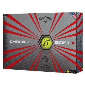 Callaway ChromeSoft X Yellow Box View