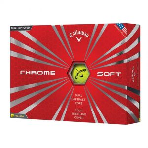 Callaway ChromeSoft Yellow Box View