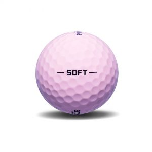 Pinnacle Soft Pink Golf Ball View