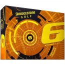 Bridgestone e6 Yellow Golf Ball Box View